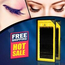 S&C All size,4 cases,7~15mm MIX,20sheets/tray,mink eyelash extension,false eyelashes,individual eyelashes