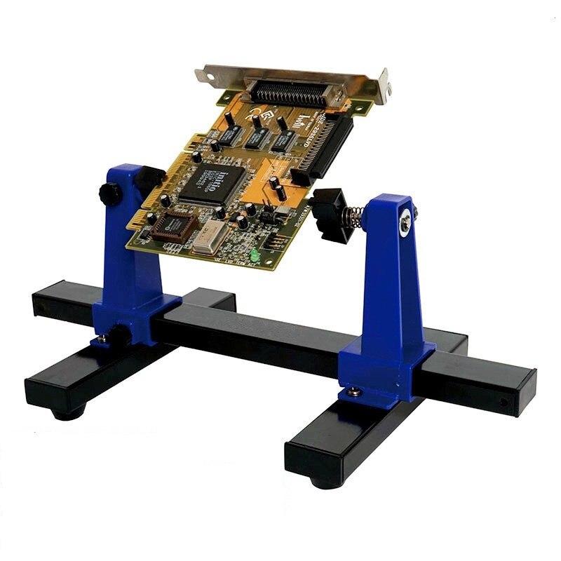 Wiring Pcb Circuit Board Soldering Iron Stand Repair Tool Dual Clip 4x
