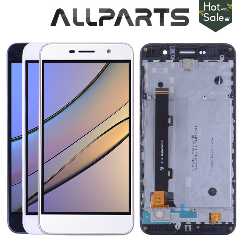 TESTED 5.0 For Huawei Y6 Pro LCD Touch Screen For Huawei Y6 Pro Display Digitizer Replacement Parts TIT-U02 TIT-AL00 TIT-L01