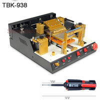TBK 938 LCD Touch Screen Split Machine Automatic Separator Glue Remove machine for Mobile phone renovation repair tool