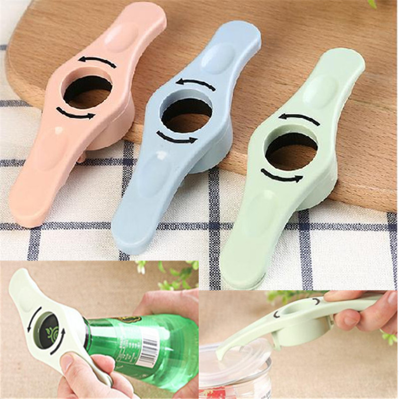 50pcs/lot Multifunctional Can opener Beer Bottles Openers Cooking Party Tools Kitchen Dining Bar Supplies