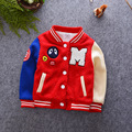 Winter Warm Coat Baseball Boys Jackets Girls Clothing Patchwork Clothes Coat Kids Outfits Windbreaker Jackets For Boys Costumes