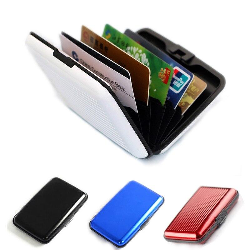 aluminium Business cardholder credit card holder aluma rfid aluminum ...