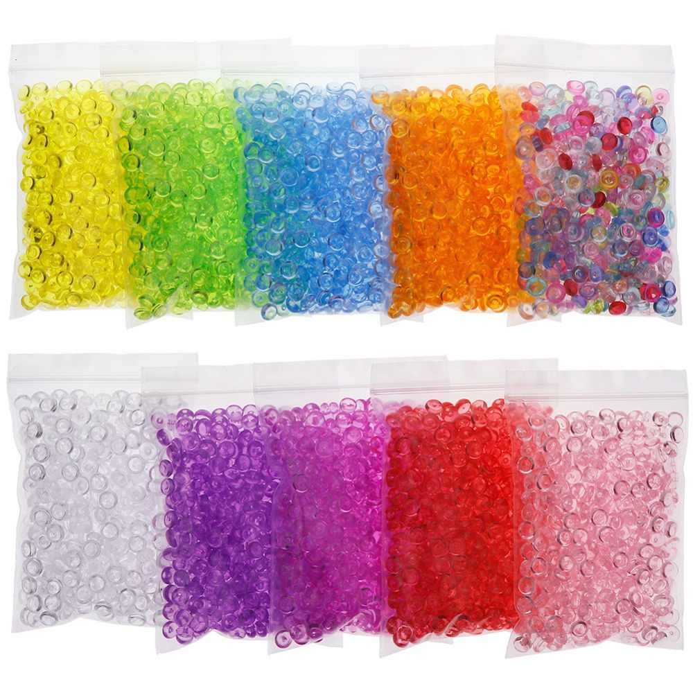 40 g/Pack Fishbowl Beads DIY Slime Decoration 7 mm Diameter For Craft Tools Home Living Room Fishbowl Bottom Decoration #266542