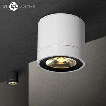 ISL светодиодный светильник потолочный лампы поверхностного монтажа Панель свет для Гостиная Спальня прихожей Кухня Office УДАРА AC85-260V 5 Вт 7 вт
