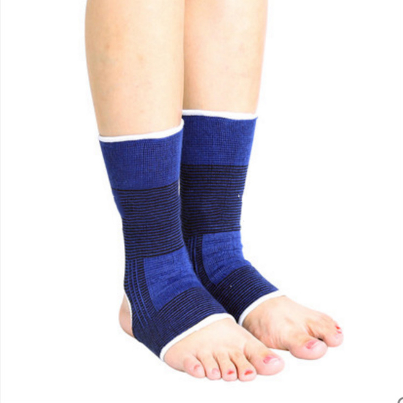 2pcs=1pair Elastic cottoPedicure Socks Ankle Support Compression Bandage Brace Feet Sleeve foot protector foot care tools