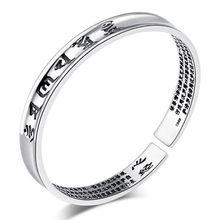 Dije de TJP Sutra brazaletes de plata de la joyería de los hombres Vintage de plata tailandesa brazaletes para las mujeres accesorios de moda a los amantes de los niños regalo de Navidad