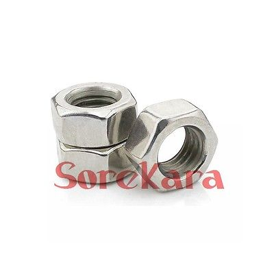 Steel Metric M4 M5 M6 M8 M10 M12 M14 M16 Pitch Left Hand Thread Hex Nut 50 pieces metric m4 zinc plated steel countersunk washers 4 x 2 x13 8mm