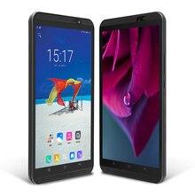 H8 Yuntab 4g phablet Android 6.0 Tablet PC Quad-Core de la pantalla Táctil 1280*800 con doble cámara y ranuras dual SIM (negro)