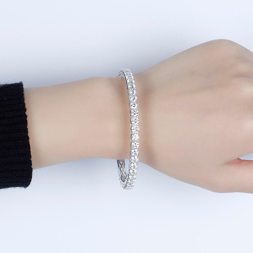moissanite bangle wedding Bracelet 4