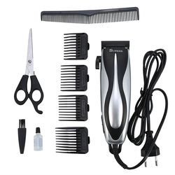 SURKER SK-5603 Rechargeable Hair Trimmer for Men and Kids Strip-line Hair Cutting Machine Adjustable Electric Hair Clipper