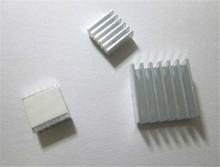 1Set Raspberry Pi 2 Heatsink Cooler Pure Aluminum Heat Sink Set Kit Radiator For Cooling Raspberry Pi 3 B