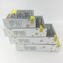 5V 2A/3A/5A/10A/20A/40A/60A/70A переключатель светодиодный Питание трансформаторы WS2812B WS2801 SK6812 APA102 Светодиодные ленты WS2811 светодиодный пиксель