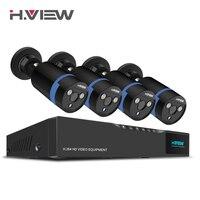 H View 16CH Surveillance System 4 1080P Outdoor Security Camera 16CH CCTV DVR Kit Video Surveillance