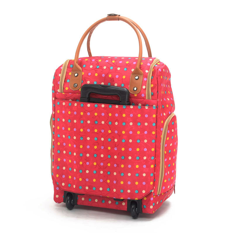 Travel boarding trolley bag designer rolling luggage men and women ...
