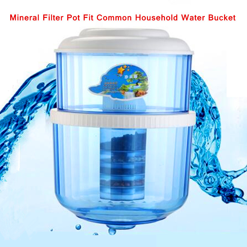 5 Stage Water Filter Cartridge Ceramic Carbon Mineral Water Pot Can Fit Bench top Dispenser Purifier Water Pot in Water Filter Parts from Home Appliances
