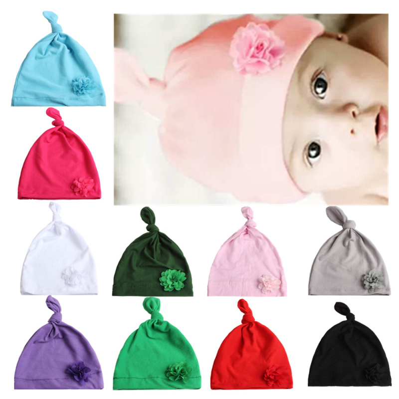 2018 Baby Girls Hat Flower Knot Bohemian India Hat For Baby Girl Autumn Winter Childrens Caps Hot Sale Baby Headwear!