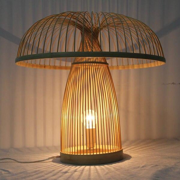 Lampade da tavolo di bambù personalizzato handmade creativo comodino ...