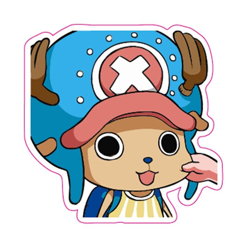 Tony Tony Chopper One Piece Cartoon Stickers - Fixed Gear/Luggage/Guitar/Motor Stickers Reusable ONEPIECE Refrigerator Sticker