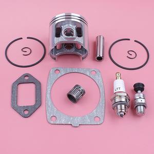 Image 5 - Kit de anel de pistão anel de 47mm, para stihl ms361 silenciador de cilindro junta válvula de descompressão rolamento motosserra de substituição peça