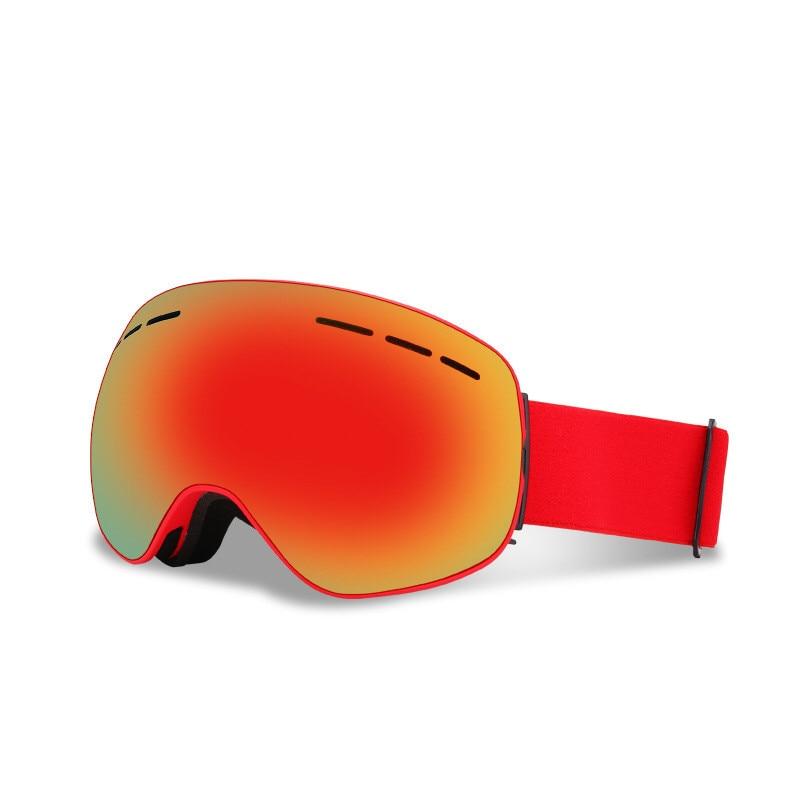 Ski Lunettes Double Lentille UV400 Anti-brouillard Neige Ski Snowboard Motocross Lunettes de Ski Masques Lunettes