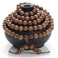 Jóias antigas pulseira yoga mala buda de madeira wenge contas grânulos de charme pulseiras para mulheres dos homens presente jóias pulseras hombre