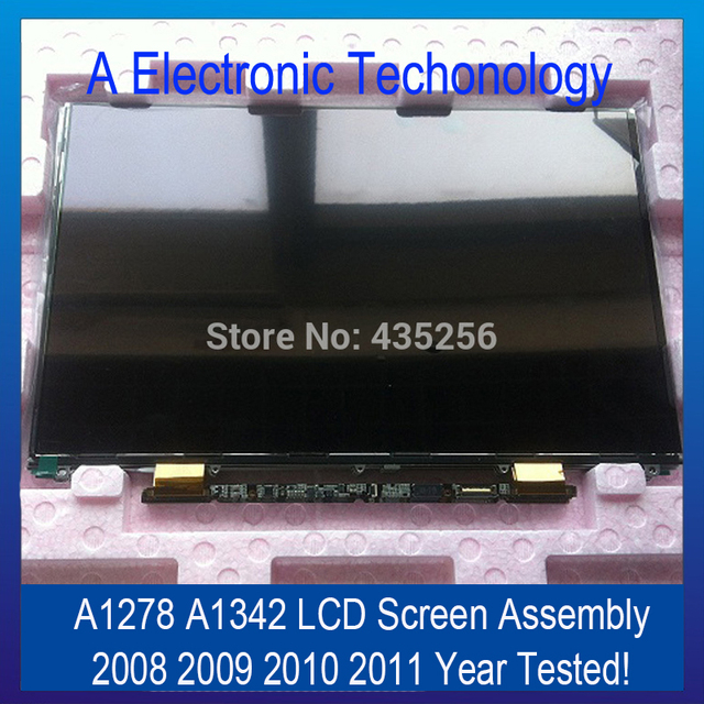 "Original New 2008 2009 2010 2011 Year A1278 A1342 LCD Screen Display For Apple Macbook Pro 13'' 13.3"" Replacement Tested"