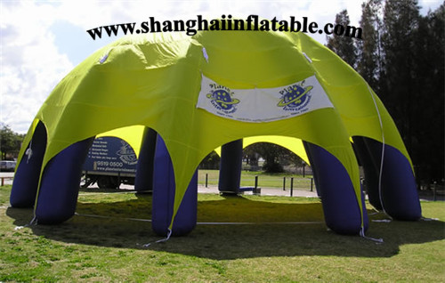 Factory Outlet Customized Advertising inflatable tent, inflatable paint booth
