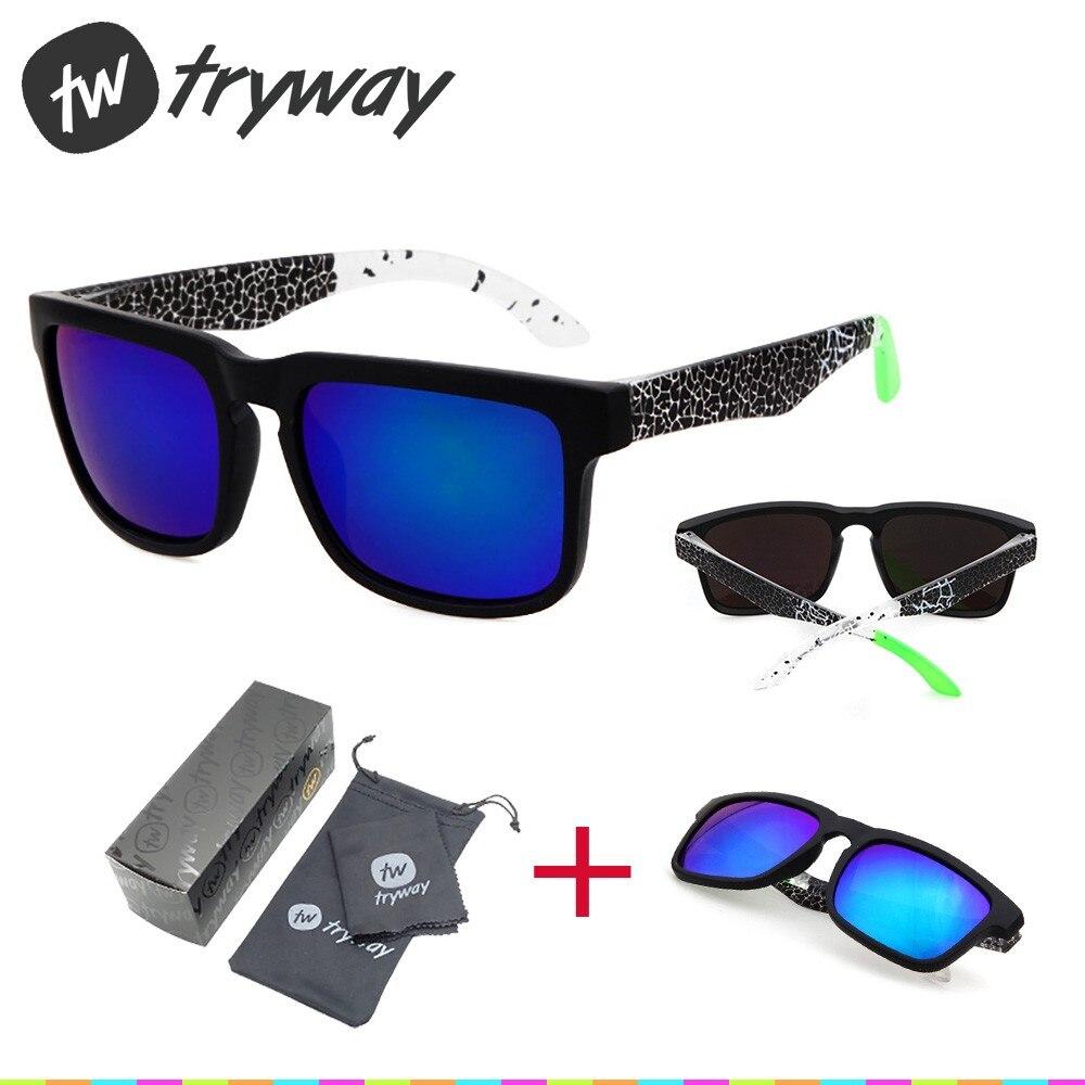 Prix pour NOUVEAUX Sports lunettes de soleil d'été oculos De Sol classique femmes Rétro UV400 hommes lunettes extérieure VTT Route KEN lunettes avec des boîtes