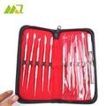 10 Pcs / Set High Quality Dental Lab Equipment Wax Carving Tools Set Surgical Dentist Sculpture Knife Instruments Tool Kit