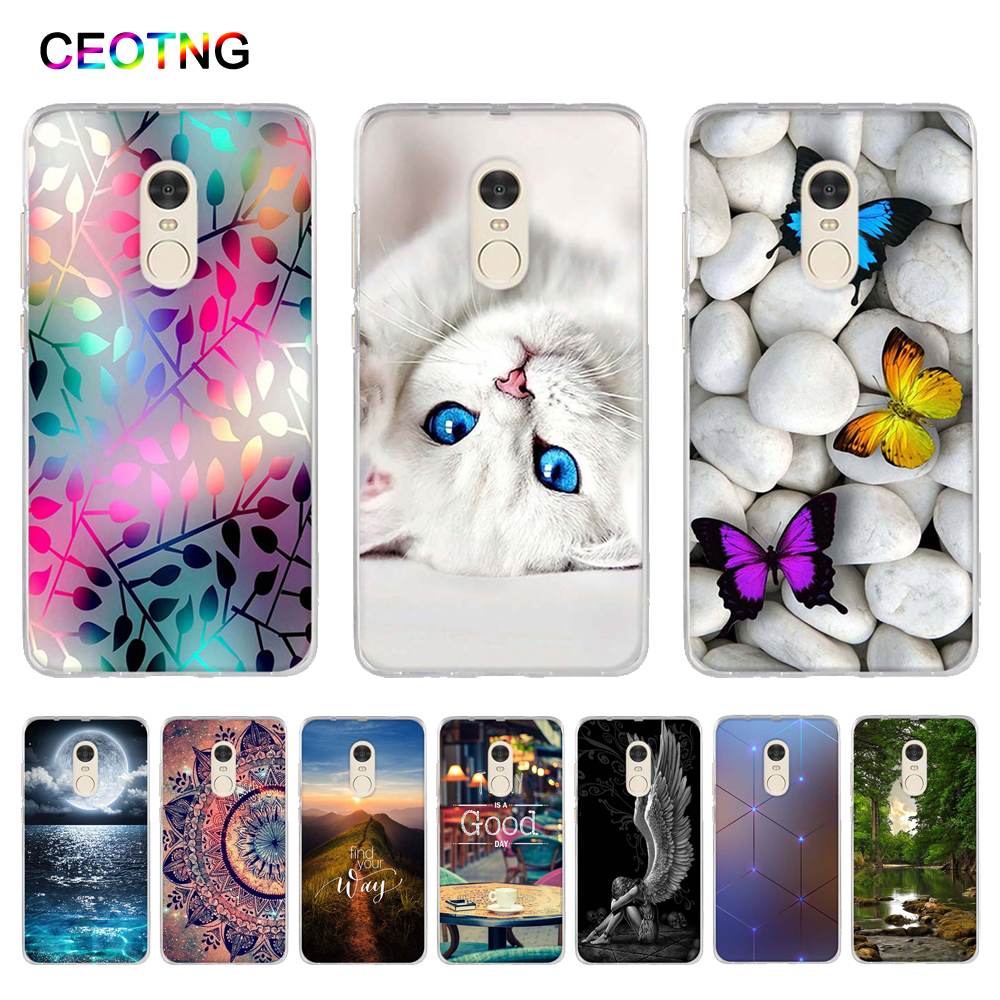 Case for Xiaomi Redmi Note 4 Soft Silicone Back Cover for Xiaomi Redmi Note 4x TPU Shells Printing Fundas For Xiaomi Redmi Note4