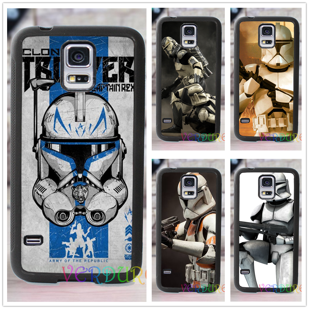 People are selling samsung galaxy s6 clones - Star Wars Clone Trooper Fashion Cover Case For Samsung Galaxy S3 S4 S5 S6 S7 S6