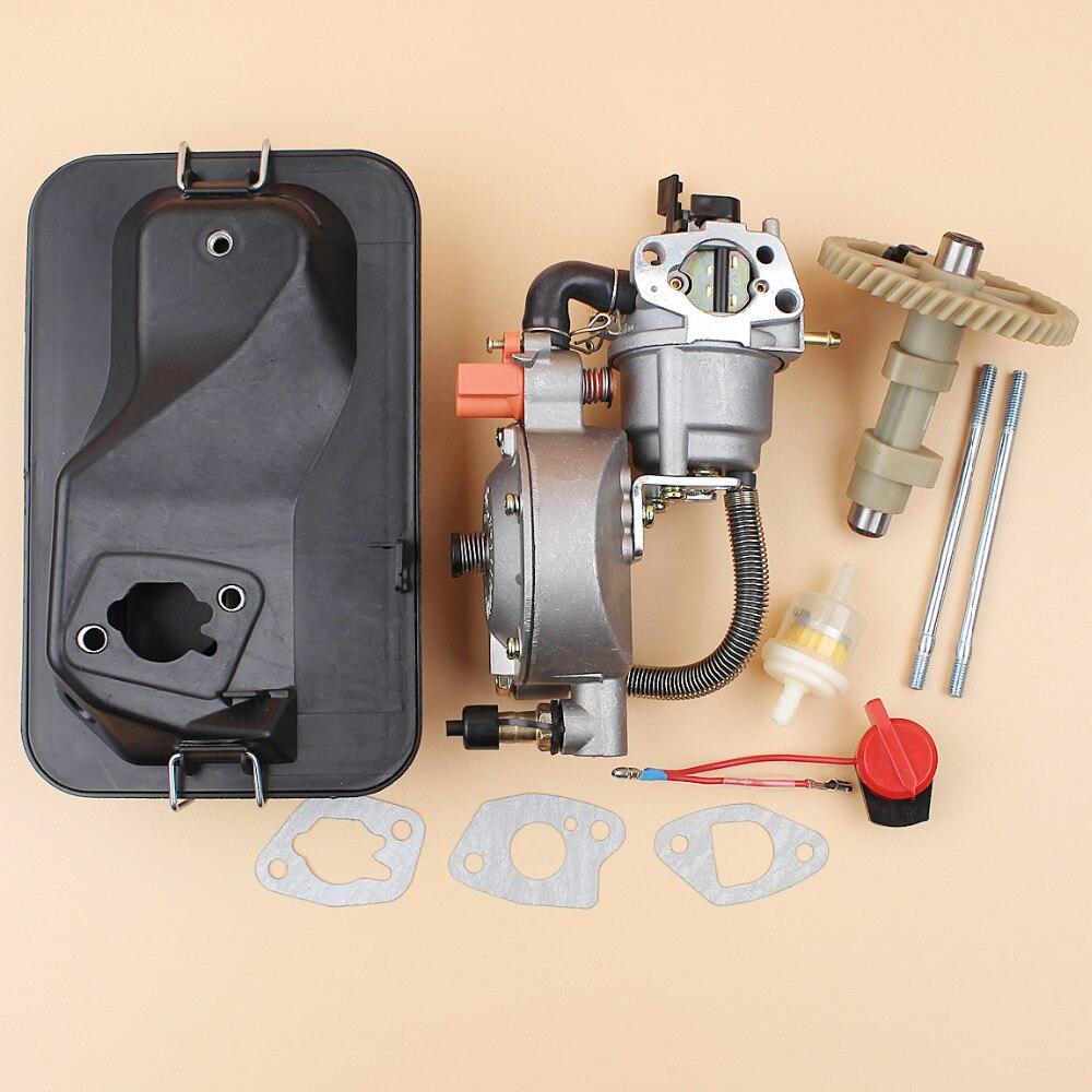 Haishine Gas Fuel Tank Filter Fit Honda GX110 GX120 GX140 GX160 GX200 GX240 GX270 GX340 GX390 152F 168F 188F Engine Motor 17672-880-000