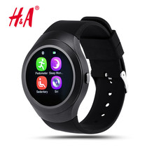 Steel Full Round Electronic Smart Watch L6S Smart Monitor SleepTracker Wearable Devices for Apple Androld Iphone Smartwatch