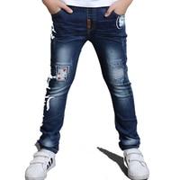 Children Jeans Boys Jeans Fashion Star Design Kids Pants boy Regular Soft Cowboy Jeans Spring Autumn baby boy straight Trousers