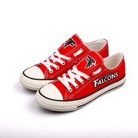 New 2019 men women unisex print Atlanta red Shoes for Falcons fans gift plus size 35 46 Free Shipping