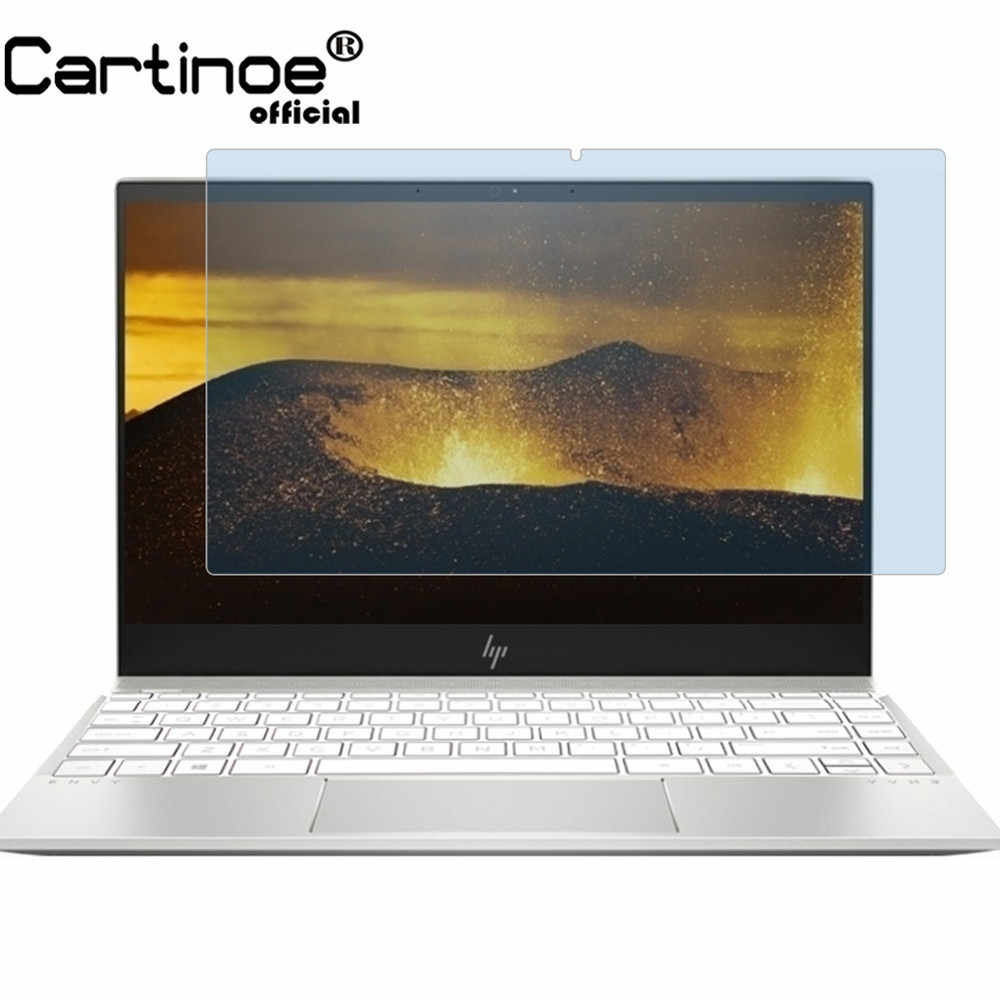 Cartinoe 13.3 インチノートパソコンの画面 Hp 羨望 13 13-ah シリーズ Ah0010tx 抗青色光液晶画面ガードフィルム (2 個)