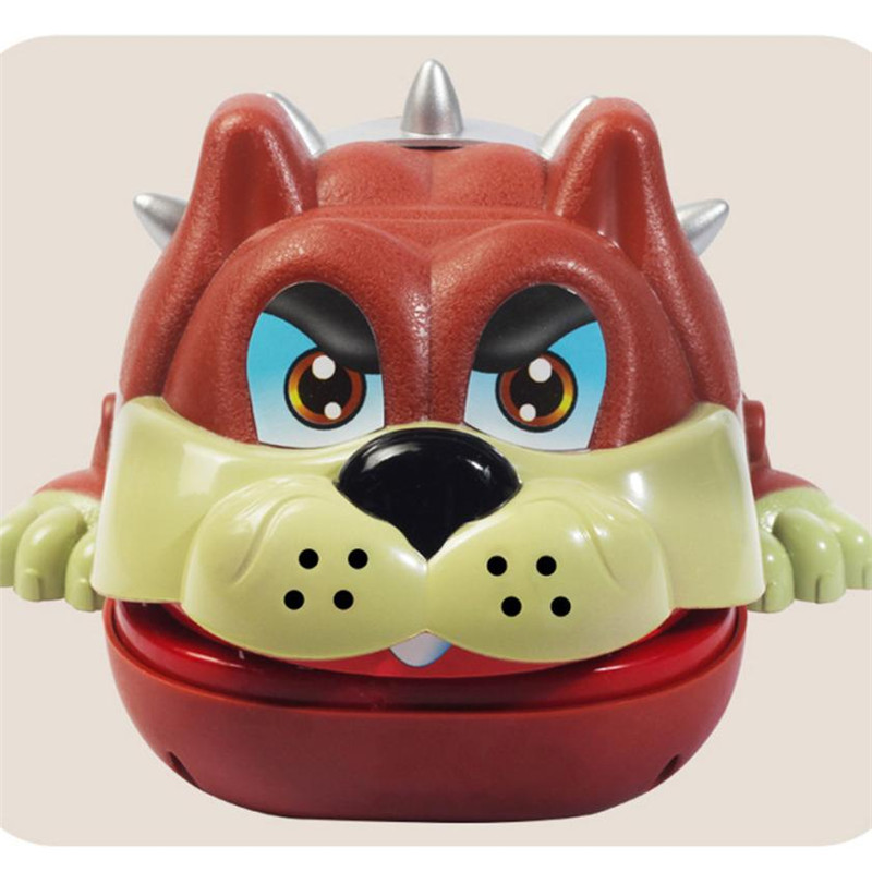 18CM Creative Bulldog Dentist Game Classic Biting Hand Party Game For Family L309