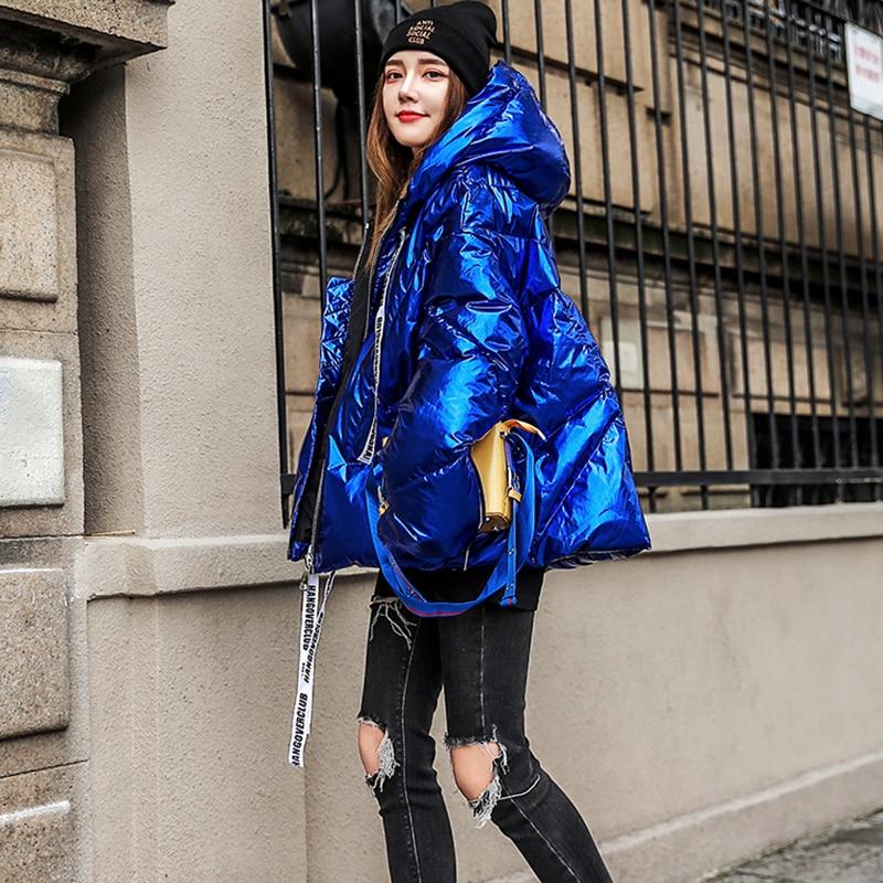 Kapuze Gro Unten e Frauen Neue Einfarbig Warme Mode Qualit Winter t Lh378 Mit Baumwollmantel Hohe Gre Foto Farbe f7gyIb6Yvm