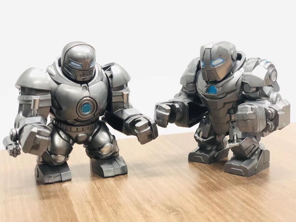30pcs Building Blocks Bricks Toys Super Heroes 7cm Big Figures Iron Mongs Ivan Vanko Venom Anti