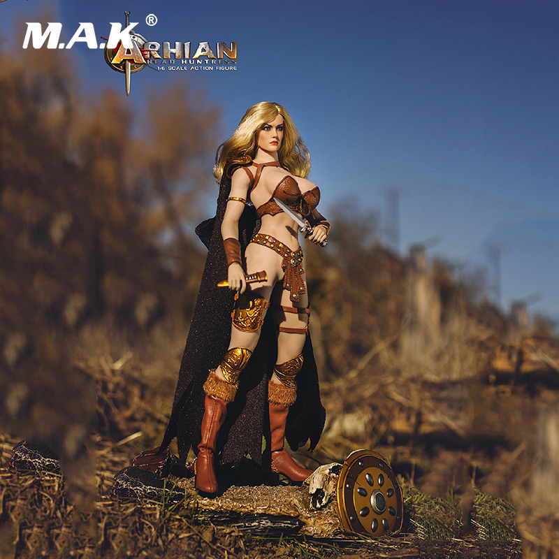 Collectible TBLeague PL2016-85 Model Toys 1:6 Number One Female Hunter Arhian Head Huntress 12'' Action Figure Doll Model Toys 1 6 scale ancient figure doll gerard butler sparta 300 king leonidas 12 action figures doll collectible model plastic toys