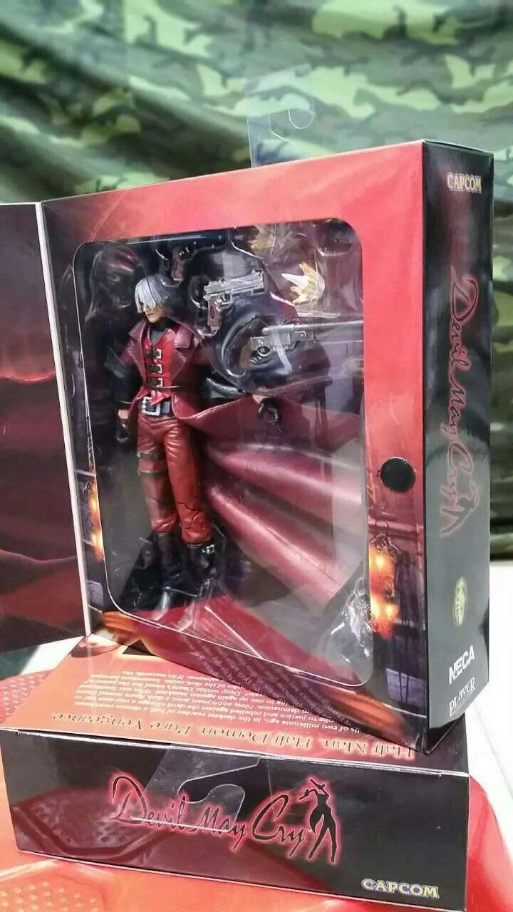 ФОТО 1pcs Newest Game Character POP Devil may cry Dante action pvc figure model tall 20cm in box for collection.