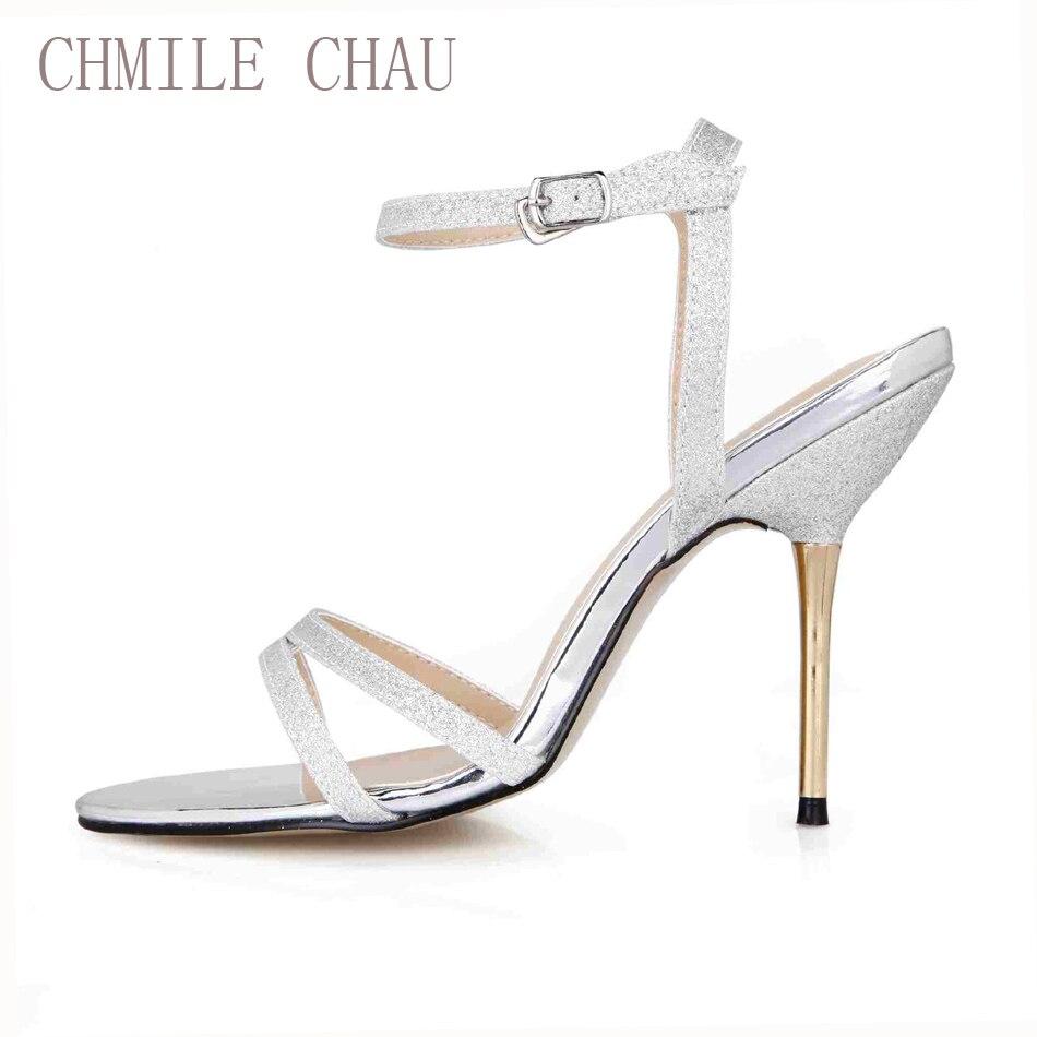 CHMILE CHAU Sexy Fashion Glitter Fiesta nupcial Zapatos de mujer - Zapatos de mujer