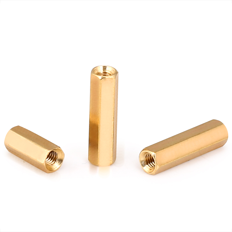 20pcs/lot <font><b>M3</b></font> Hex Long Screw <font><b>M3</b></font> Female Hexagonal Brass PCB <font><b>Standoffs</b></font> Spacers Screw <font><b>M3</b></font>*4/5/6/8/9/10/11/12/13/14/15/16/18/<font><b>20mm</b></font> image