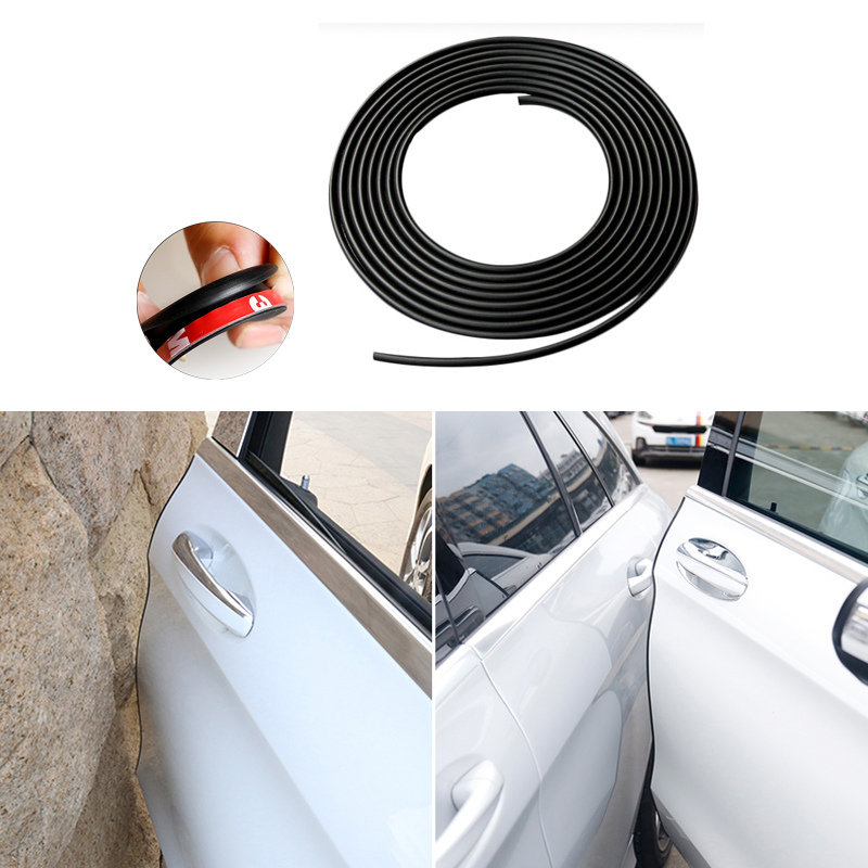 Car Door Protector Anti Collision Trim Edge Scratch Strip For Mercedes Benz W211 W204 W212 Audi A4 A3 Q5 BMW E39 E46 E60 executive car