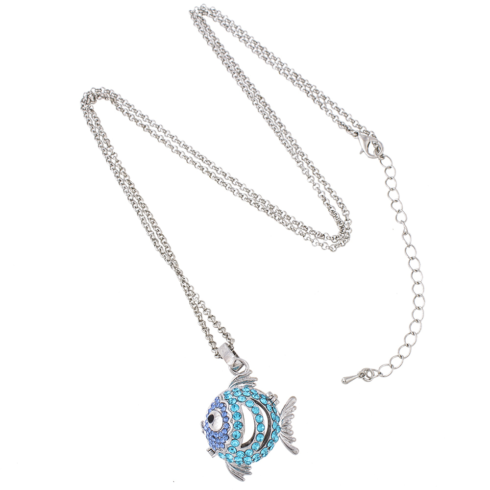 An6025 fashion jewelry plating angel ball interchangeable cage an6025 fashion jewelry plating angel ball interchangeable cage crystal fish design pregnancy ball in pendants necklace jewelry aloadofball Images