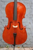 1 2 Cello Spruce Fine Flame Maple Master Level Powerful Cello Bag Bow 391