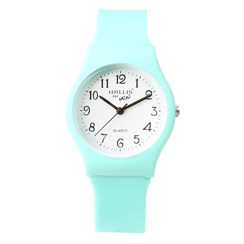 New Brand Fashion Transparent Quartz Watch Vanntett Silicone Ladies Ladies Watches Studenter Kids Kids Watch For Girls Boys