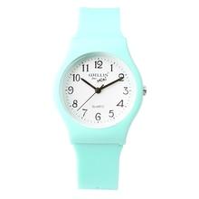 New Fashion Simple Transparent Quartz Watch Waterproof Silicone Watch For Mini 10M Water Resistant Children Analog Wristwatch недорого