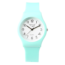 New Fashion Simple Transparent Quartz Watch Waterproof Silicone Watch For Students Water Resistant Children Analog Wristwatch